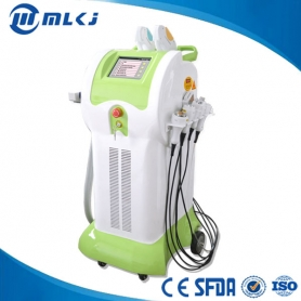 8 in 1 Elight IPL SHR ND Yag Laser Cavitation Vakuum RF multifunktionale Schönheit Maschine