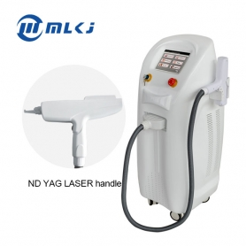 Factory direct vertical Laser beauty equipment nd yag q switched tattoo removal salon clinic laser machine
