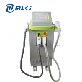 Laser beauty equipment  755nm 808nm 1064nm diode laser hair removal elight ipl hair removal multifunction beauty machine