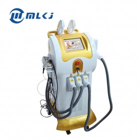 Mingliang elight+shr+cavitation+vacuum+RF+ND YAG laser hair tattoo removal multi-function salon beauty machine