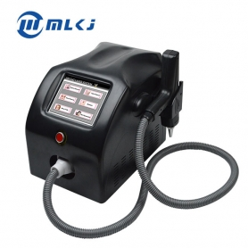 Mini laser tattoo pigment removal 1064nm 532m nd yag laser beauty machine