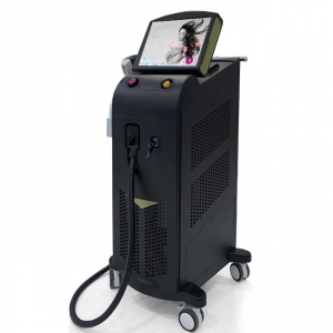 Chine 1200W High Power Mixed Diode Laser Trio 755Nm 808nm 1064nm Laser Hair Removal Machine price For Sale usine