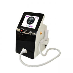 China 1320nm 1064nm 532nm Q switched nd yag laser tattoo removal with medical lamp factory