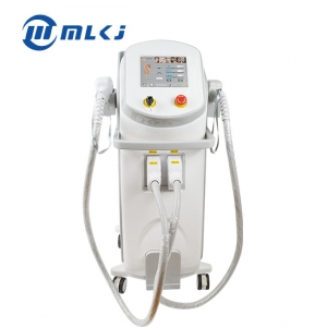 China 2 Handpeices 808nm Diode Laser Hair Removal Salon Clinic Machine factory