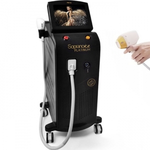 Chine New technology 2020 diode laser hair removal triple wavelength 808nm laser hair removal machine price usine