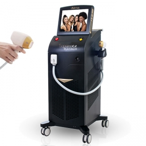 La fábrica de China 2020 diode laser hair removal triple wavelength 808nm laser hair removal machine