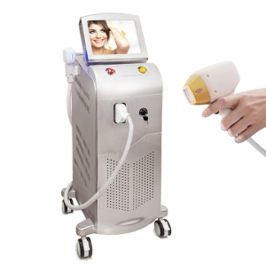 La fábrica de China hair removal 755 808 1064 diode laser electric hair removal machine epilator