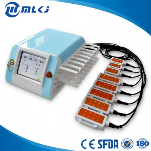 China 650nm liposuction laser slimming machine with 150mw diode factory