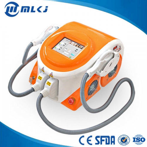 China AFT in motion technology SSR SHR skin rejuveantion hair removal beauty machine factory