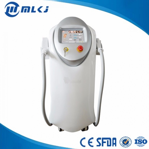 China Dual system IPL Diode laser permanent hair removal laser factory