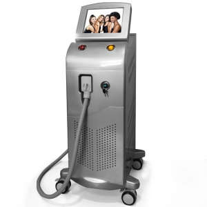 El mercado de China Newest 1064 755 808nm diode laser hair removal machine