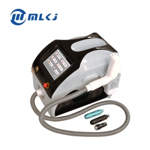 China Hottest 1064 nm 532nm nd yag laser q switch tattoo removal machine factory