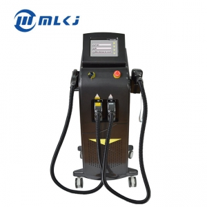 China Multifunction stationary beauty machine 808 nm diode laser hair removal ipl skin rejuvetation hair removal ipl manufacturer market