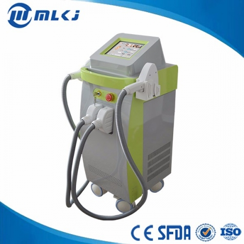 China Multifunctional plateform IPL Elight 808nm diode laser equipment factory