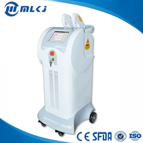 China Vertical type IPL Elight SHR laser hair removal machine for sale factory